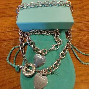 Authentic Tiffany Google Heart Set